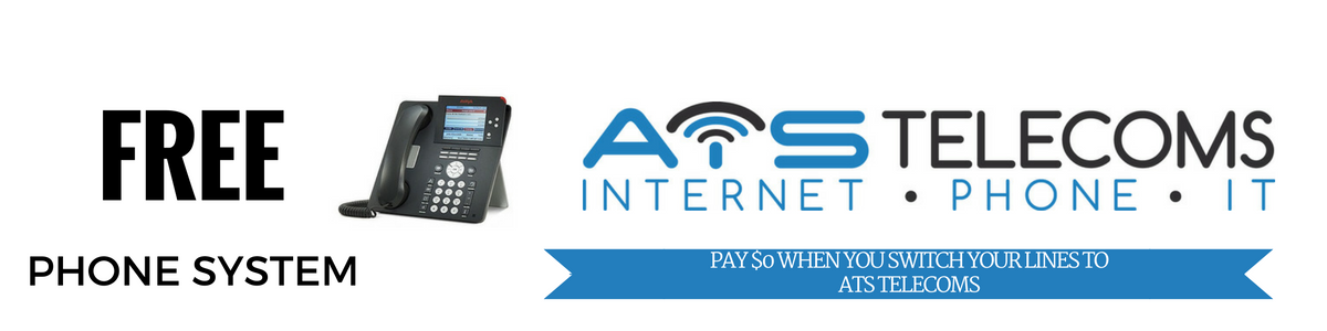 Get a Free Phone System with ATS Telecoms